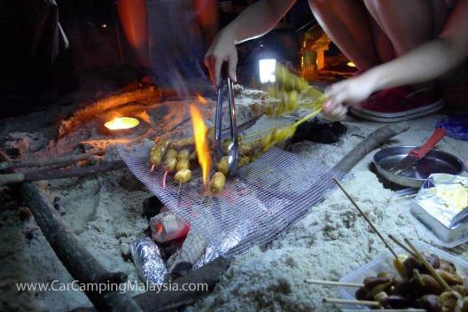 bbq-monkey-beach-penang-car-camping-malaysia-3