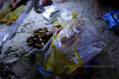 bbq-monkey-beach-penang-car-camping-malaysia